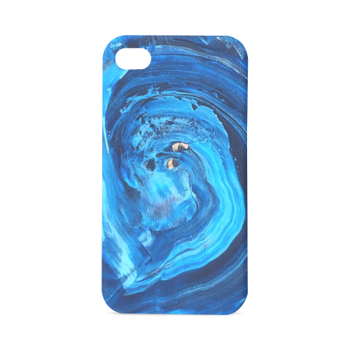 iphonte4_wave Hard Case for iPhone 4/4s