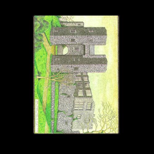 """Berry Pomeroy Castle by Kelvin Coles Blanket 58""""x80"""""""