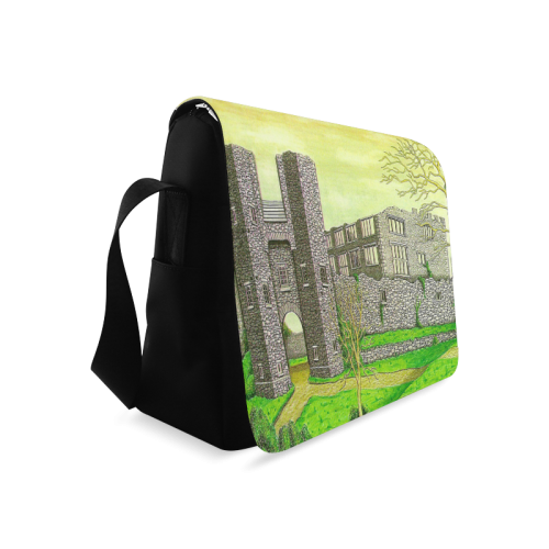 Berry Pomeroy Castle by Kelvin Coles Messenger Bag (Model 1628)
