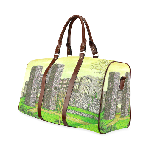 Berry Pomeroy Castle by Kelvin Coles Waterproof Travel Bag/Large (Model 1639)