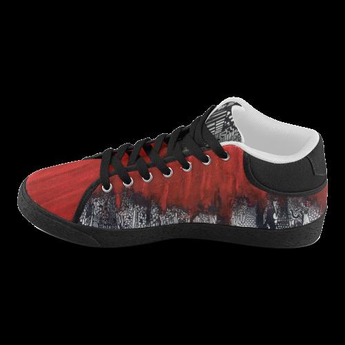 travel3 bol Men's Chukka Canvas Shoes (Model 003)