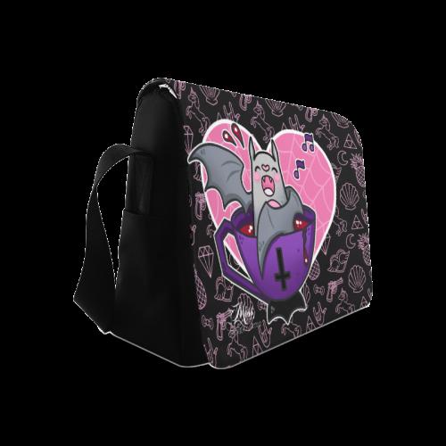 Bats Love Baths BABY BAG Messenger Bag (Model 1628)