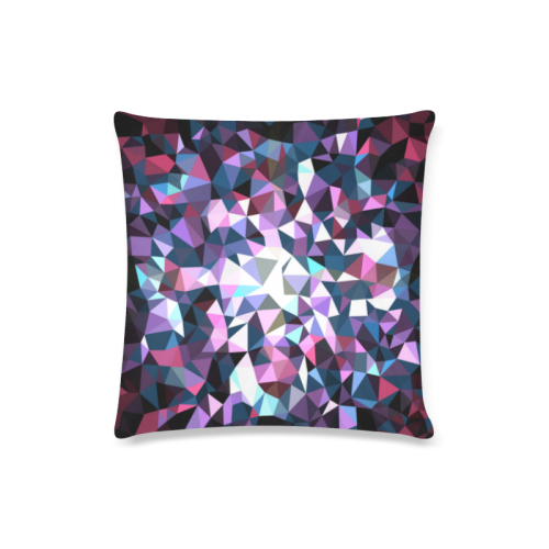 "Colore1 Custom Zippered Pillow Case 16""x16""(Twin Sides)"
