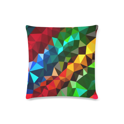 """Colore Custom Zippered Pillow Case 16""""x16""""(Twin Sides)"""