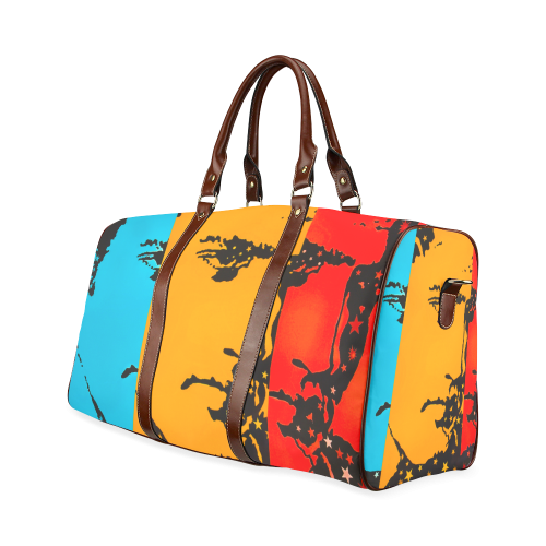 Elvis at Graceland Waterproof Travel Bag/Large (Model 1639)