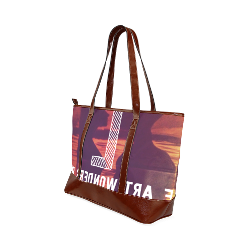 couples beauty Tote Handbag (Model 1642)