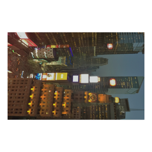 34TH FLOOR NY CITY TIME SQUARE Poster 23*36