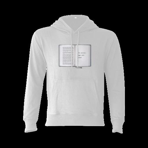 Funny Book Error 404 Page Not Found Geek Gildan Hoodie Sweatshirt (Model H03)