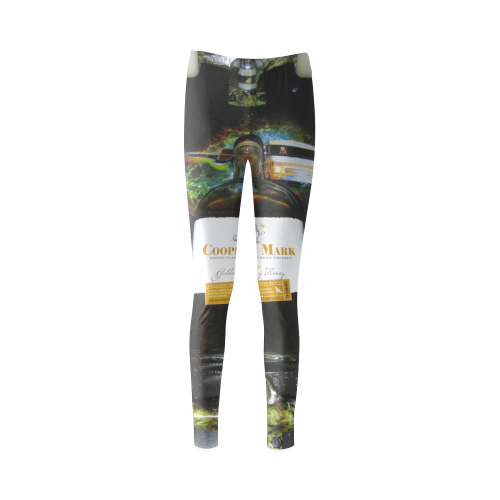 GOODWOOD EAGLE VS PREDATOR GOLGEN COLONY HONEY Cassandra Women's Leggings (Model L01)