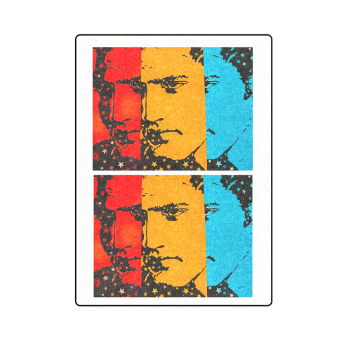 "Elvis at Graceland Blanket 58""x80"""