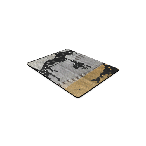 Elvis in Cardboard Rectangle Mousepad