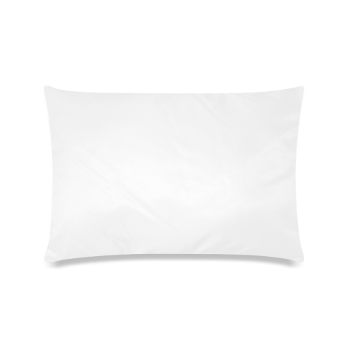 "Spiral Citrus Orange Droste Custom Rectangle Pillow Cases 16""x24"" (one side)"