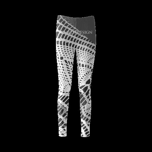 custom print crochet fahion leggings for Women _CAM237design Cassandra  Women's Leggings (Model L01)