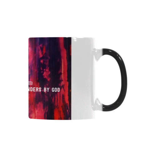 loveartwonders pink sunset Custom Morphing Mug