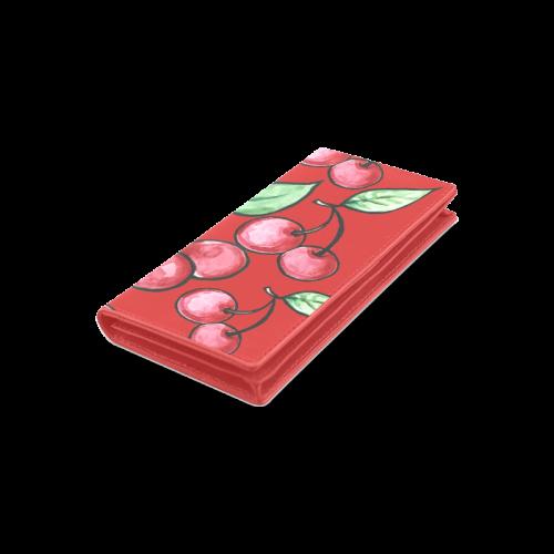 Cherry Bomb Women's Leather Wallet (Model 1611)