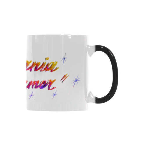 CALIFORNIA DREAMER YELLOW RED N PURPLE BRICK Custom Morphing Mug