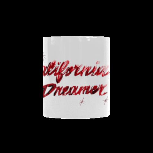 CALIFORNIA DREAMER RED Custom Morphing Mug