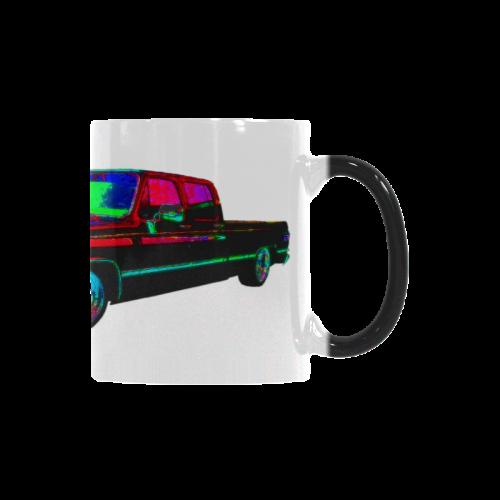 1988 CHEVROLET  SILVERADO CREW CAB RED Custom Morphing Mug