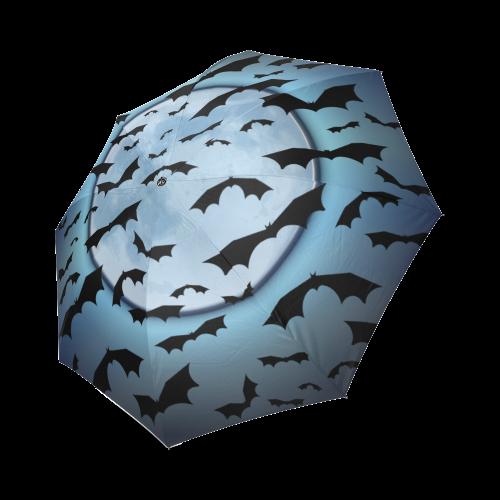 Bats in the Moonlight Foldable Umbrella (Model U01)