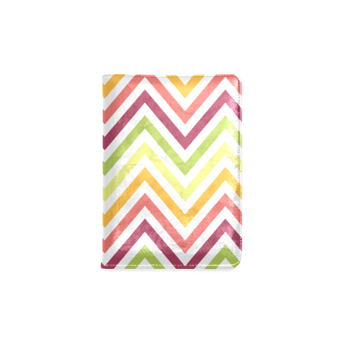 Modern Trendy Chevron Custom NoteBook A5