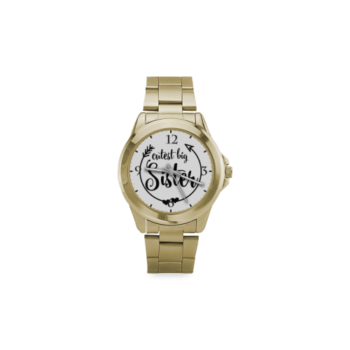 Cutest Big Sister Custom Gilt Watch(Model 101)