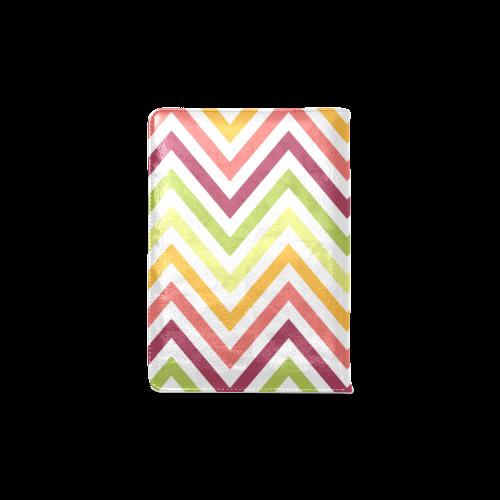 Modern Trendy Chevron Custom NoteBook A5