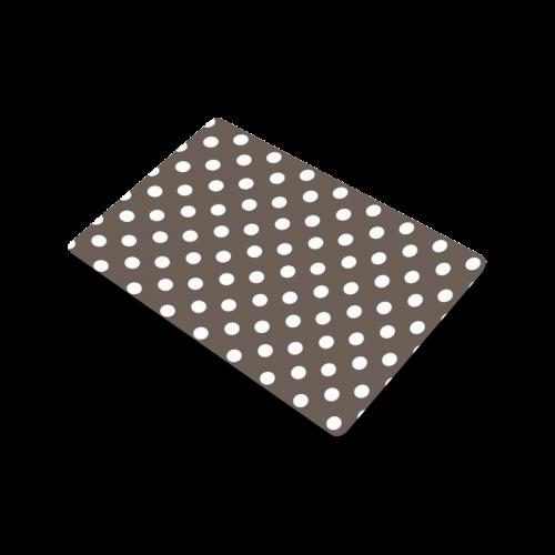 """Beige Polka Dots Doormat 23.6"""" x 15.7"""""""