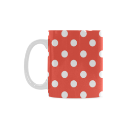 Red White Polka Dots Gifts | ArtsAdd