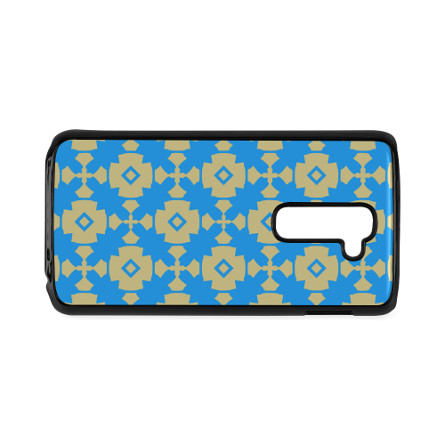 Blue Gold Geometric Hard Case for LG G2