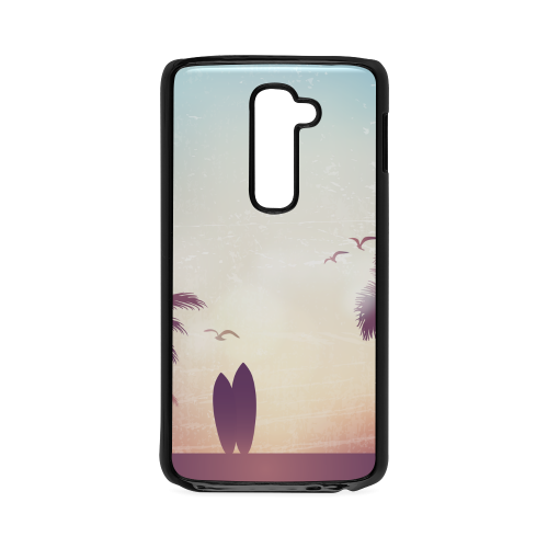 Tropical Summer Landscape Hard Case for LG G2