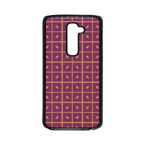 Leaves Pattern Hard Case for LG G2