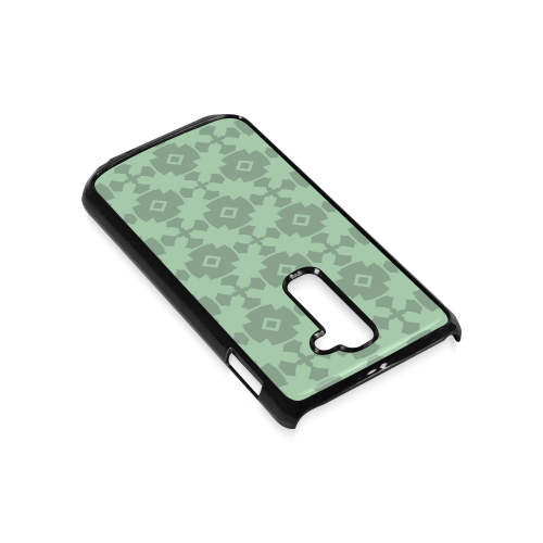 Mint Green Geometric Tile Pattern Hard Case for LG G2