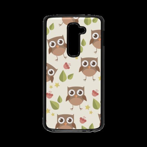 Modern Retro Owl Pattern Hard Case for LG G2
