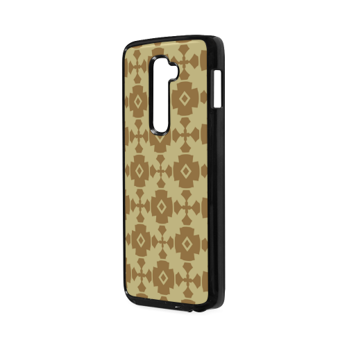 Earth Gold geometric Hard Case for LG G2