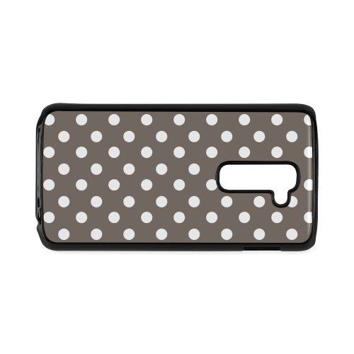 Beige Polka Dots Hard Case for LG G2