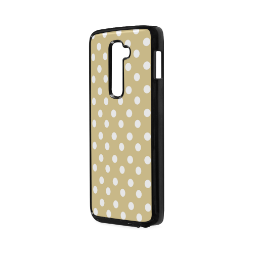 Light Olive Polka Dots Hard Case for LG G2