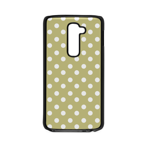 Olive Polka Dots Hard Case for LG G2