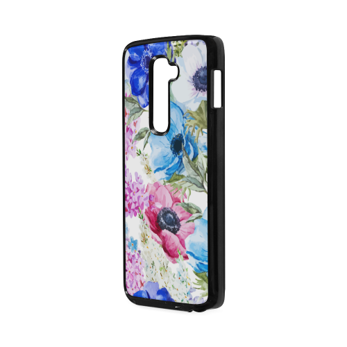 Watercolor Floral Pattern Hard Case for LG G2