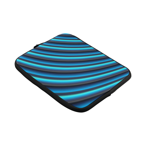 Glossy Blue Gradient Stripes Macbook Pro 11''