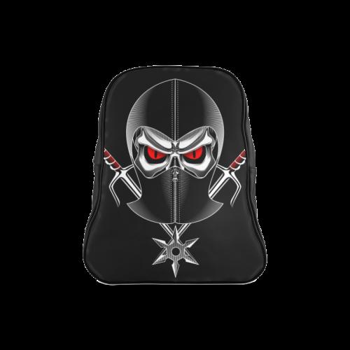 Skull School Bag School Backpack/Large (Model 1601)