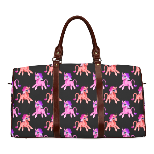 Unicorn Large Bag Waterproof Travel Bag/Large (Model 1639)