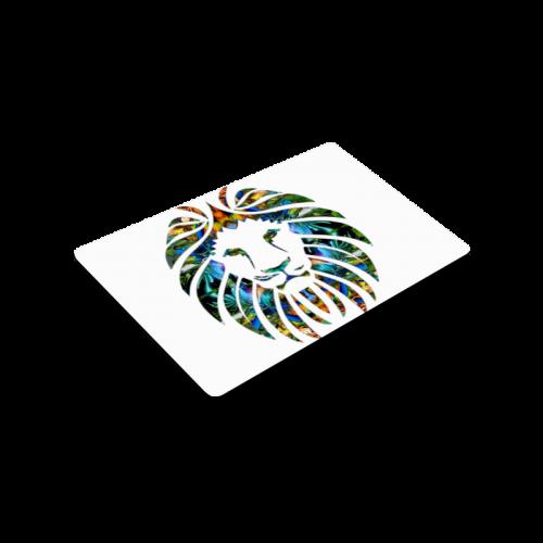 """Lion Logo Doormat 30""""x18"""""""