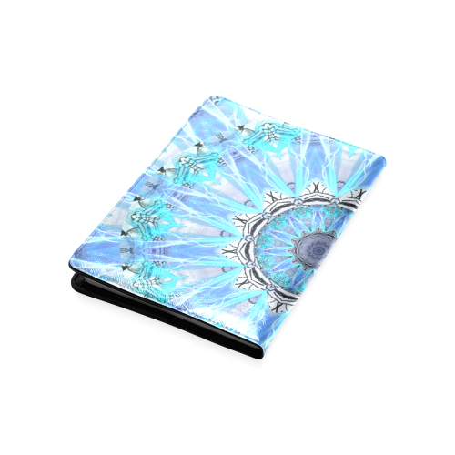 Sapphire Ice Flame Light Custom NoteBook A5