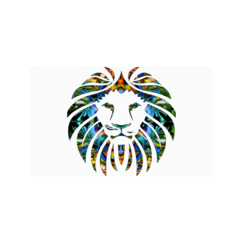 "Lion Logo Doormat 30""x18"""