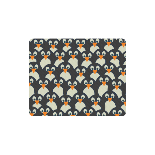Penguin Pile-Up Rectangle Mousepad