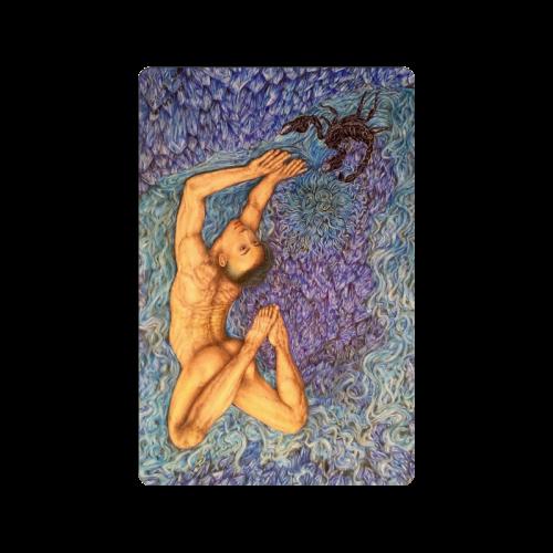 "Astrology Zodiac Signs Scorpio Doormat 23.6"" x 15.7"""