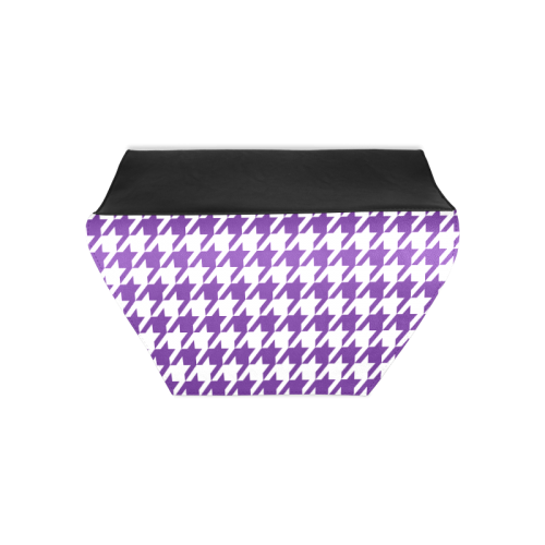 royal purple and white houndstooth classic pattern Clutch Bag (Model 1630)