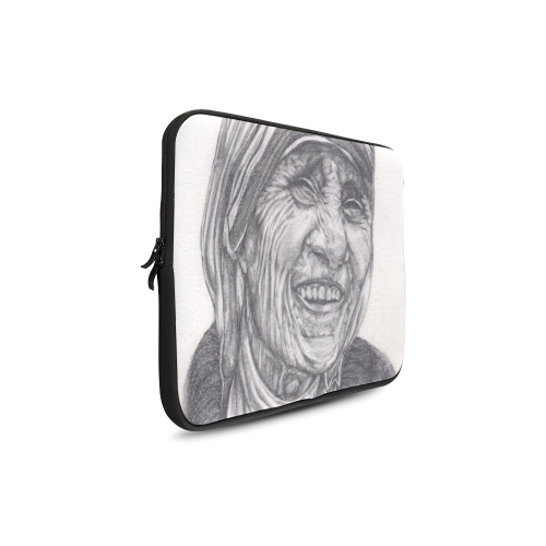 """Mother Theresa Drawing Custom Sleeve for Laptop 17"""""""