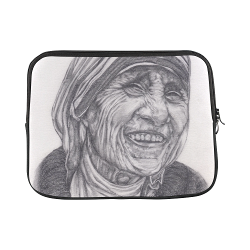 Mother Theresa Drawing Laptop Sleeve 11''