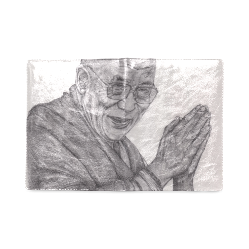 Dalai Lama Tenzin Gaytso Drawing Custom NoteBook B5